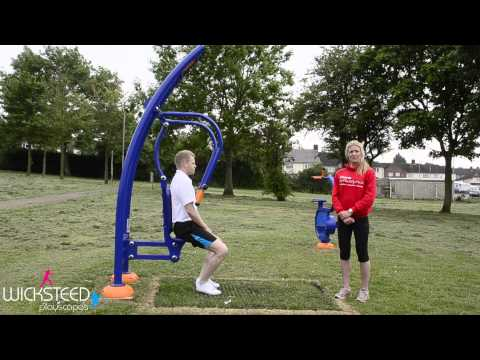 Chest Press - Outdoor Gym Equipment