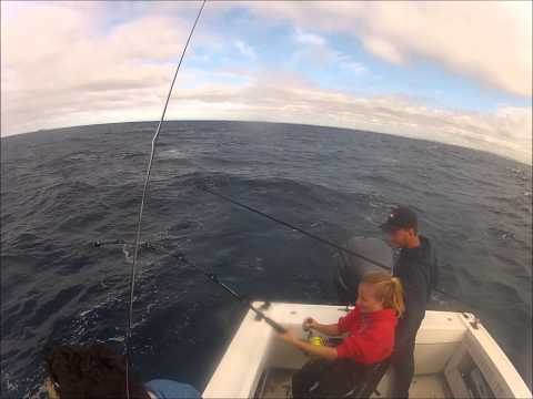 Team FINSANITY: Lady Luck During The 2014 Sydney Game Fishing Club Tournament