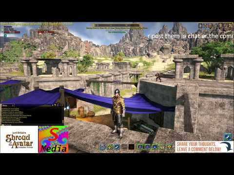 shroud of the avatar It's the BRE R51 First experience stream