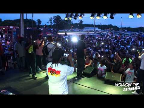 French Montana & Trina @ Kinston Drag Strip W/ Hollow Tip Productions