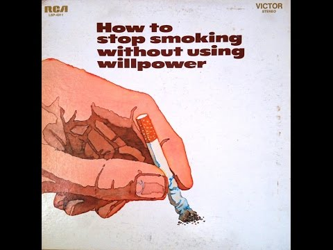 "Howard Loy ""How To Stop Smoking Without Willpower"" 1970 FULL ALBUM Self Help LP"