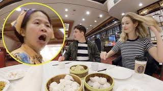 White Girl Orders Dim Sum in Perfect Chinese, THIS happened...
