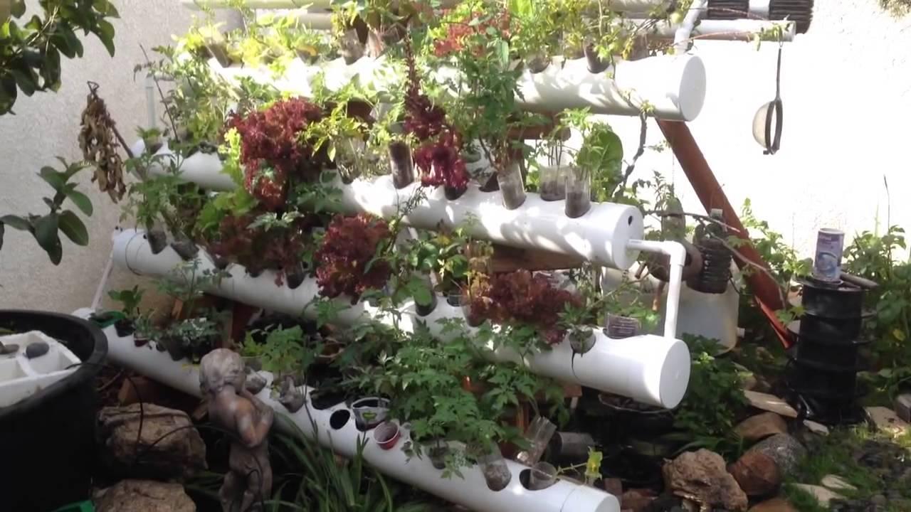 Ez acuaponia casera en abril youtube for Antorchas para jardin caseras
