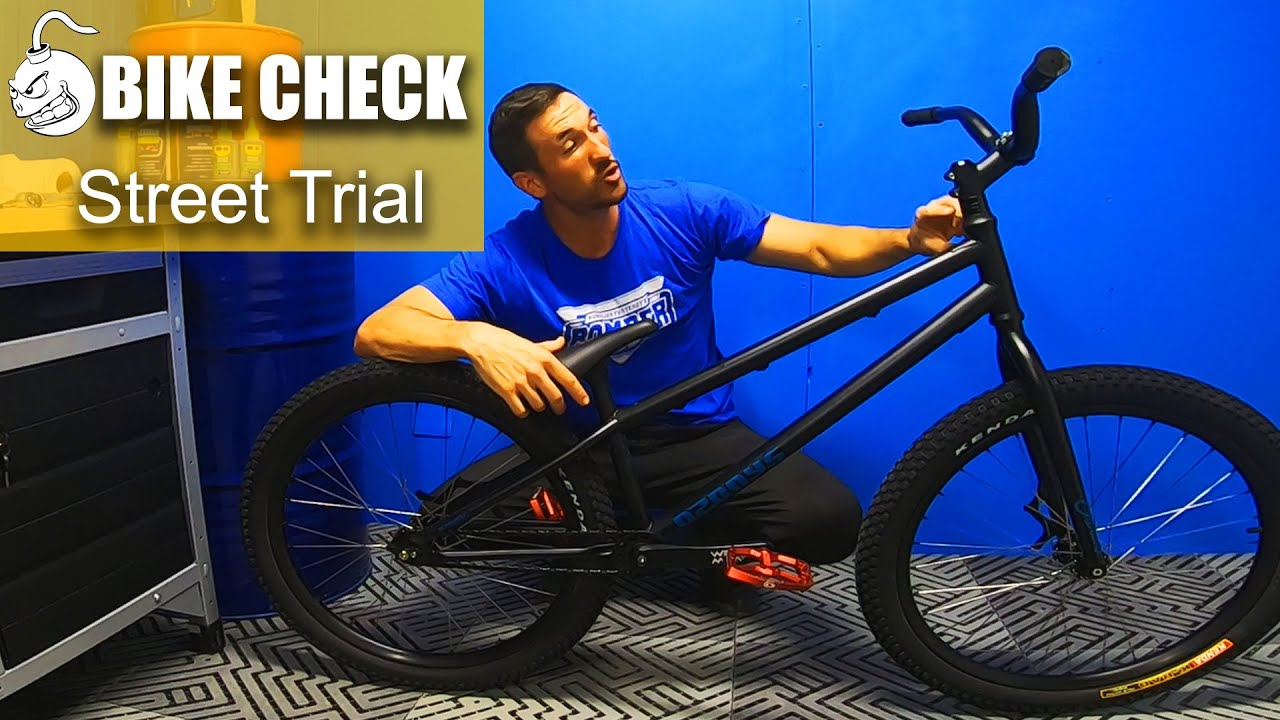 BIKE CHECK : Street Trial Ozonys Crown 24