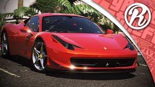 [GTA5] DE FERRARI 458 ITALIA TESTEN IN GTA 5 ONLINE!! - Royalistiq