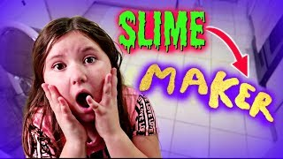 SLIME IS FOLLOWING ME! ~ The Slime Maker skit