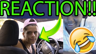 FUNNY MUSICAL TAXI | Rudy Mancuso!! REACTION!!