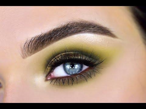 NEW Morphe 35M Boss Mood Palette | Green Eyeshadow Tutorial