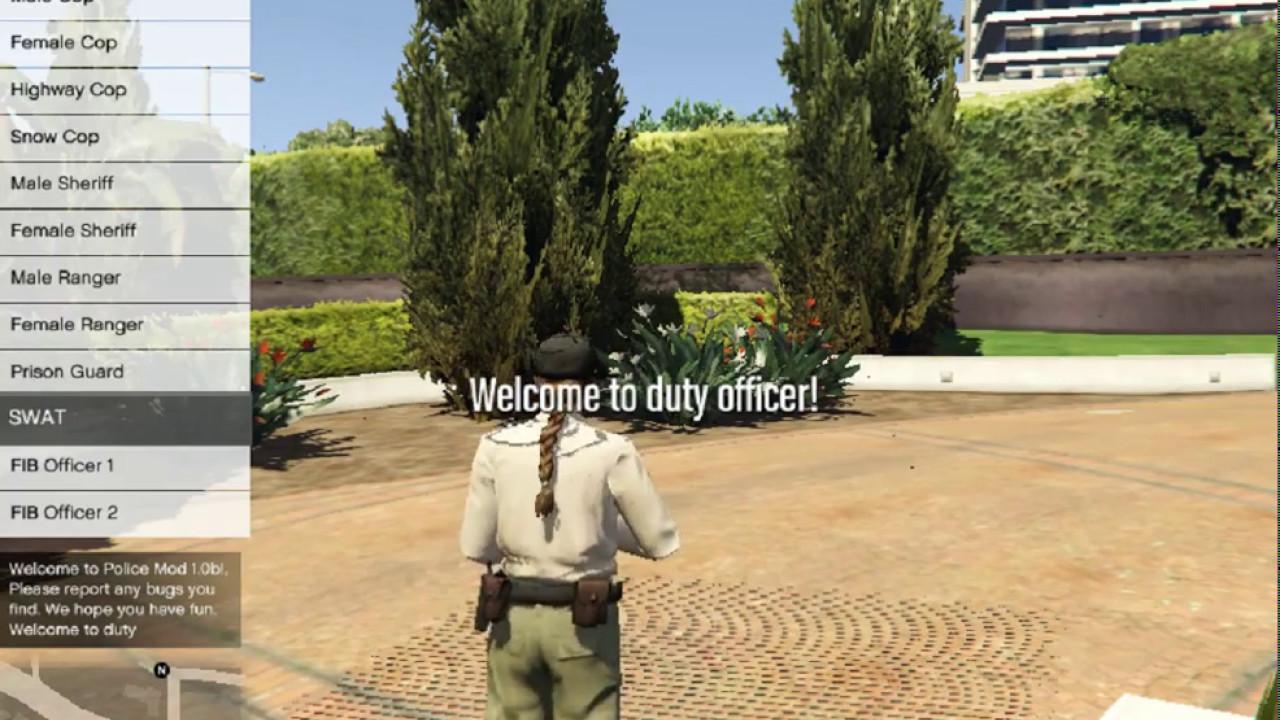 تحميل لعبة جراند 5 للكمبيوتر مود الشرطة
