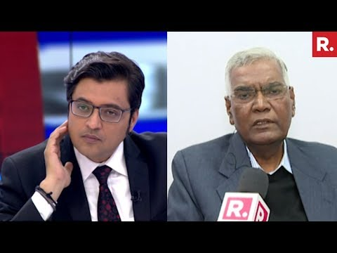 D Raja Speaks To Arnab On His Meeting With Justice Chelameswar