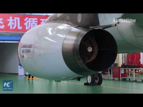 Aircraft dismantling base opens in Harbin, China