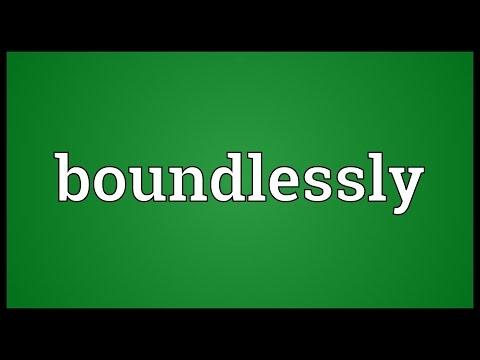 Header of boundlessly