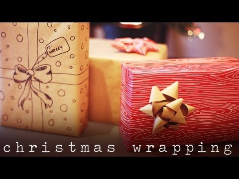 GIFT WRAPPING IDEAS & DIY GIFT BOW