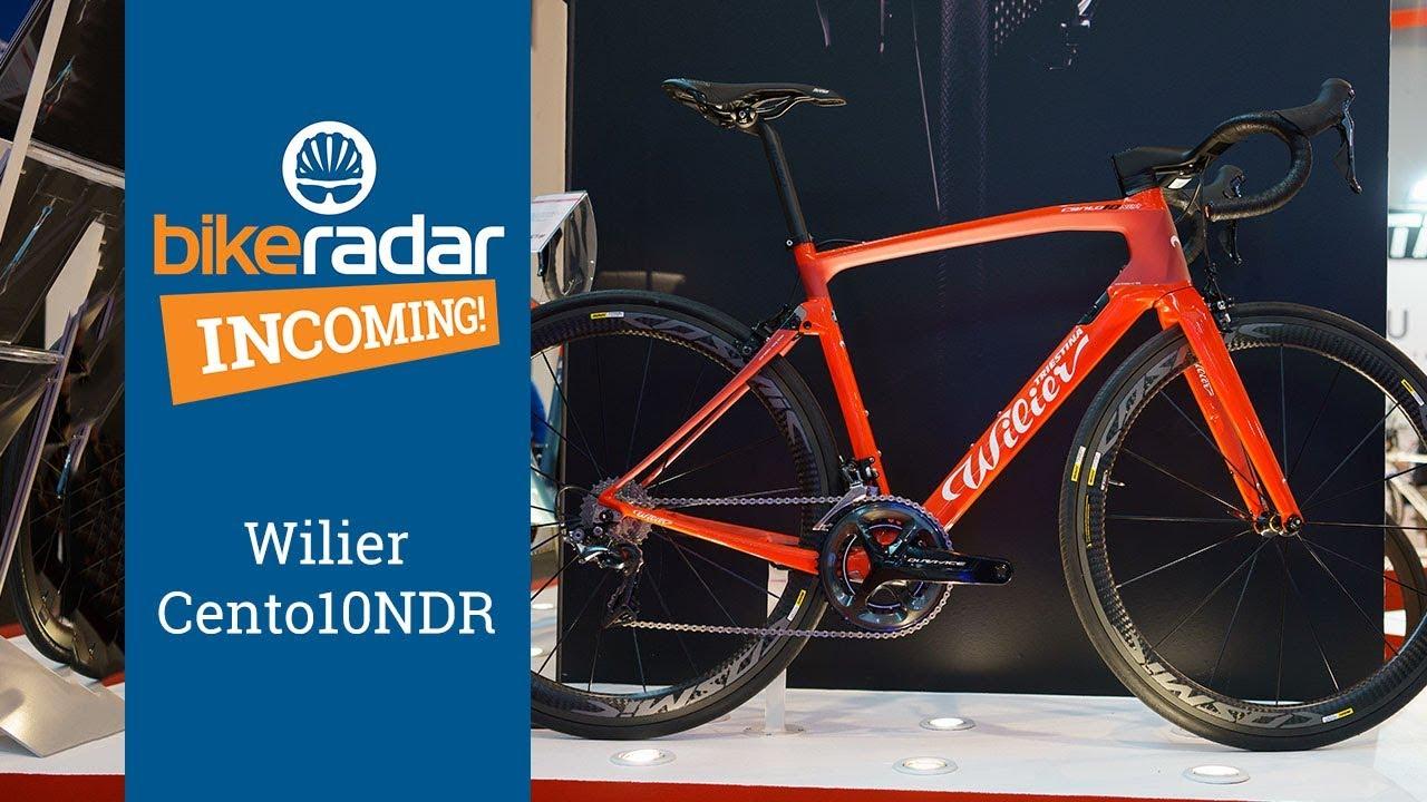 5ce361d9403 Wilier Cento10NDR 2018 - Elastomer-Equipped, Rim/Disc Race Bike ...