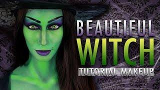 BEAUTIFUL WITCH - Halloween Makeup Tutorial