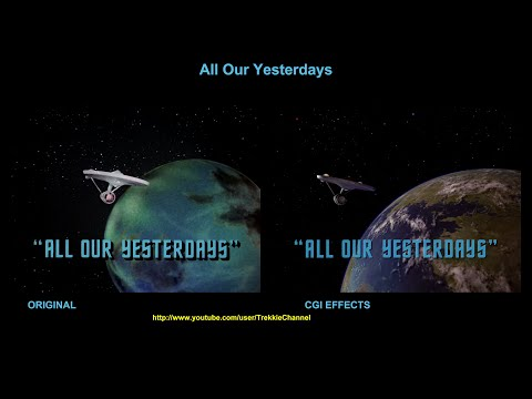 Star Trek  All Our Yesterdays  visual effects comparison