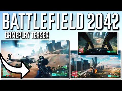 NEW Official Battlefield 2042 gameplay teaser! 👀