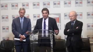 Conférence de Presse du Président Christian Jacob du 24/01/2017