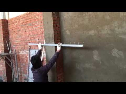 Sand and Cement Rendering on Brick Walls(Part 2) - First Coa