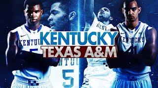 Kentucky Wildcats TV: Kentucky 70 Texas A&M 64 2OT