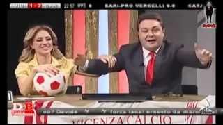 Imperdibile! Andrea Diprè impazzisce a Diretta Biancorossa 28 marzo 2015