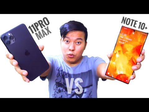 2 KIDNEY KA COMPARISON 😂😂 - IPhone 11 Pro Max Vs Samsung Galaxy Note 10+ Full Comparison