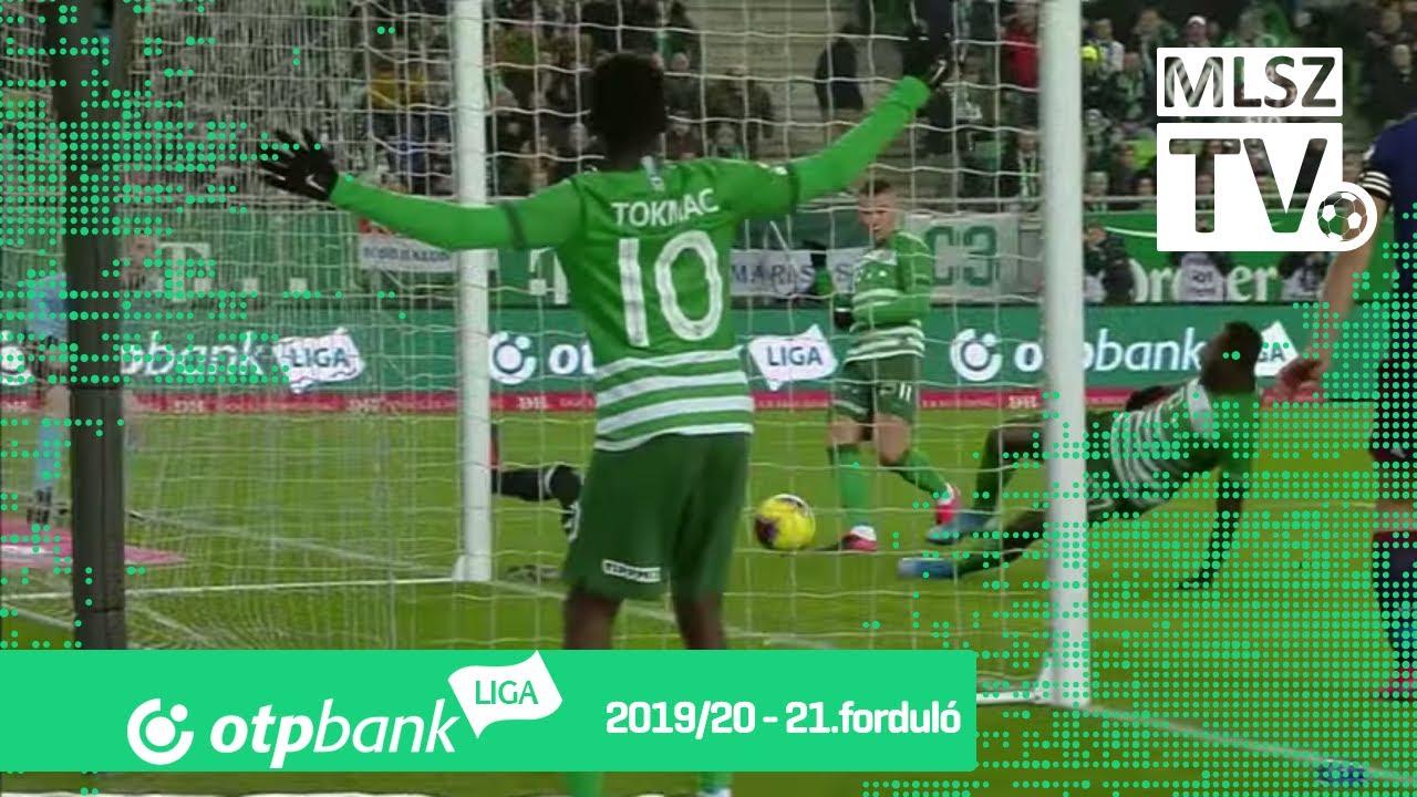 Zubkov Oleksandr gólja a Ferencvárosi TC – MOL Fehérvár FC ...