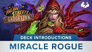 Hearthstone Deck Introductions: Miracle Rogue MSG