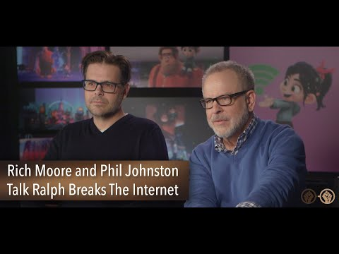 Directors Rich Moore & Phil Johnston Talk Ralph Breaks The Internet