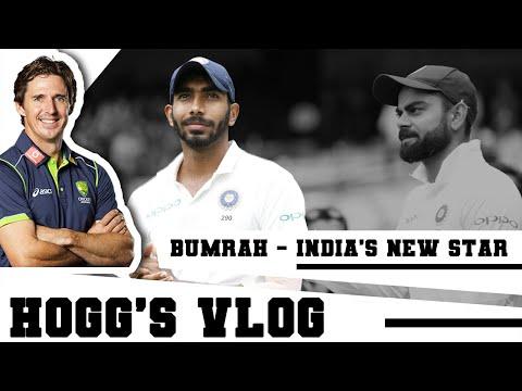 Jasprit BUMRAH - INDIA's new SUPERSTAR | #HoggsVlog | Cricket Analysis