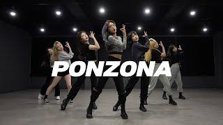 퍼플키스 Purple Kiss - Ponzona | 커버댄스 Dance Cover | 거울모드 Mirror mode | 연습실 Practice ver.