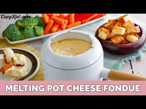 Melting Pot Fondue - Classic Cheese Fondue