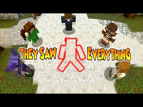 THEY SAW EVERYTHING AND DONE NOTHING !! - Minecraft Murder Mystery