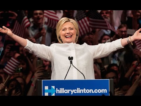 Hillary Clinton Becomes Official Democratic Nominee