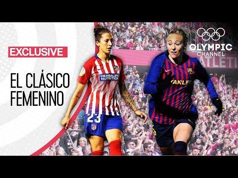 Atlético Madrid vs FC Barcelona - The Record Breaking Women's Football Club Match