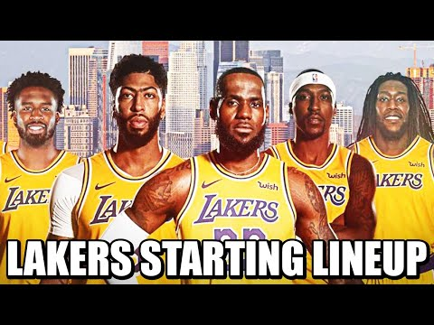 Los Angeles Lakers UNBEATABLE Lineup For 2021! PERFECT STARTER OPTIONS for LeBron James!