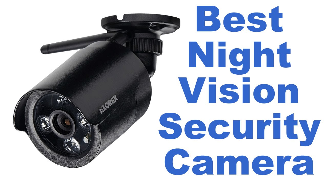 Best Wireless Outdoor Night Vision Security Camera YouTube