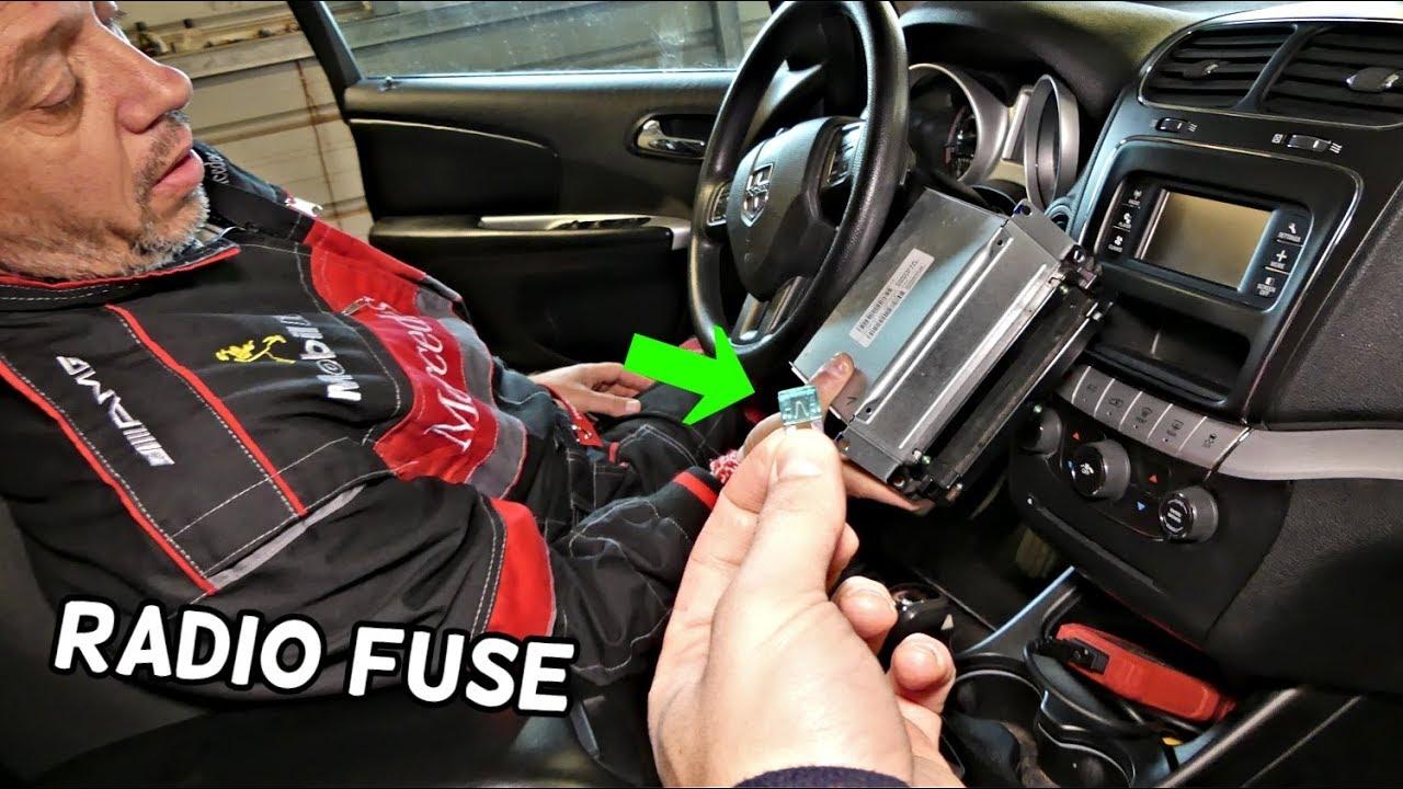 2017 Dodge Journey Interior Fuse Box Location