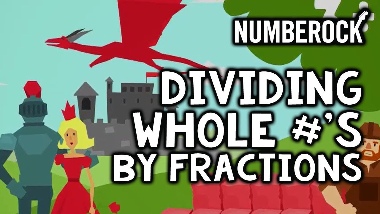 Dividing whole numbers by fractions song by numberock youtube dividing whole numbers by fractions song by numberock ccuart Choice Image