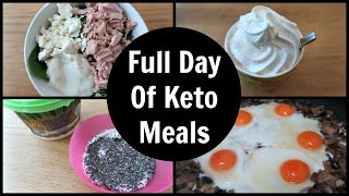Full Day Of Eating | Ketogenic Diet