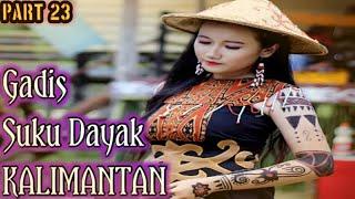 Nama Nama Suku Dayak Kalimantan  Gadis Dayak 23