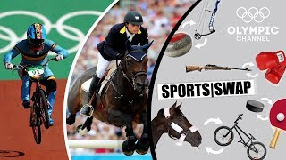 BMX vs Equestrian | Can They Switch Sports | Sports Swap
