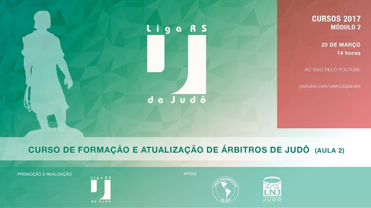 CURSO DE FORMAÇÃO E ATUALIZAÇÃO DE ÁRBITROS DE JUDÔ 2017