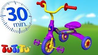 Занятия на улице | трехколесный велосипед | 30 минут ТуТиТу Игрушки