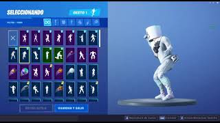 Skin Marshmello Dancing - Incombustible - Fortnite