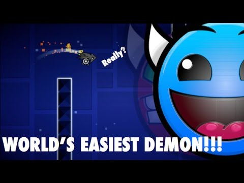 WORLDS EASIEST DEMON LEVEL EVER MADE IN GD!!! (Unknown)