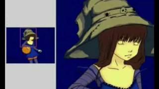 A lil witch - manga drawing