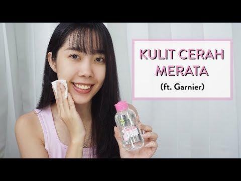 Cara Membuat Kulit Cerah Merata Dengan Garnier Sakura White Pinkish Glow