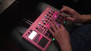 Korg Electribe 2 Sampler fingerdrumming