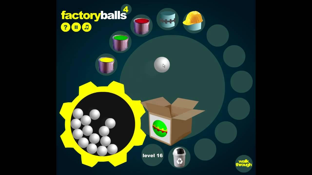 Factory ball 4 - Level 11 to 20 walkthrough - YouTube